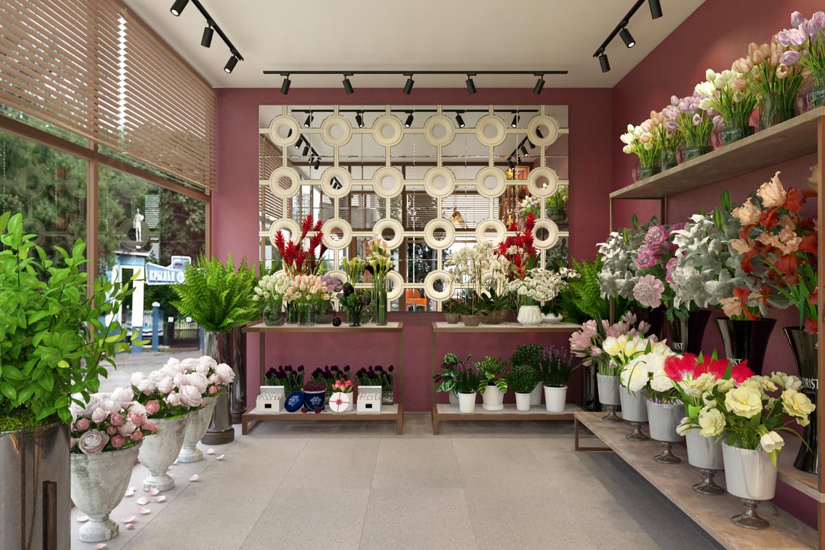Выбор место под магазин цветов, букетов москве цены